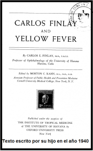 Carlos Finlay and Yellow Fever
