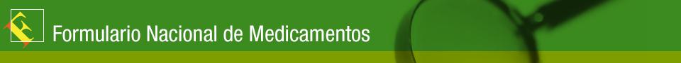 Formulario Nacional de Medicamentos (CWIS)