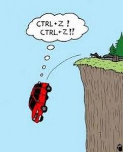 Ctrl+Z !!!!!